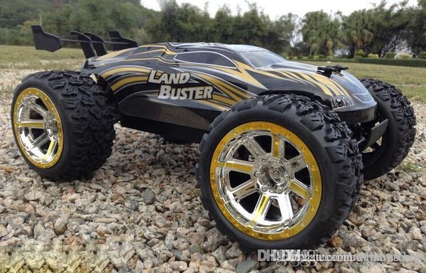 ht 4 roues motrices gros-50 kmh RC voiture à haute vitesse Télécommande Off Road Dirt Bike classique Jouets Big Wheel Truck Boy Gift