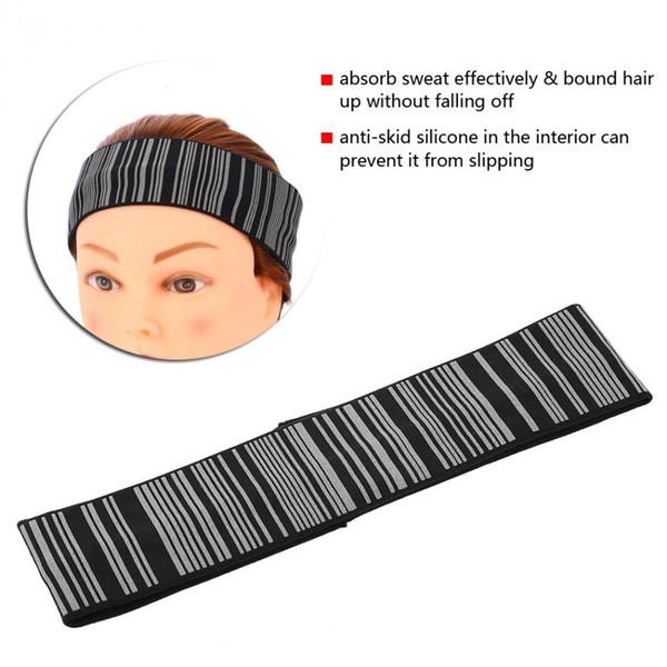 Cotton Hairband Stretchy Yoga Gym Stretch Head Sweatband Reflective Running Sport Headband Outdoor Sport Cycling Headwear