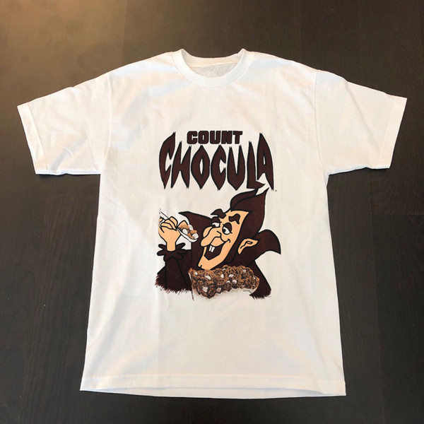 Rare 1995 conte Chocula SHIRT Monster Cereals Classic Pop Culture General Mill, taglia discout hot new tshirt