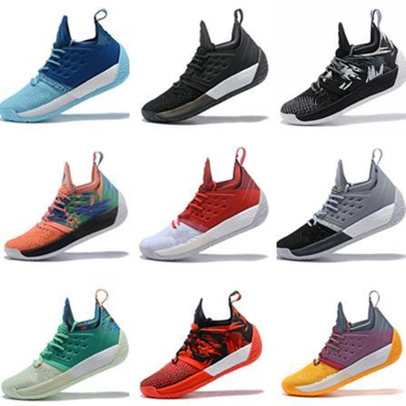 2019 New James Harden 2 Vol.2 Basketball Shoes James Men Harden 2  Championship MVP Finals Sports Training Sneaker Running Shoes Size 40-46 beceb3515
