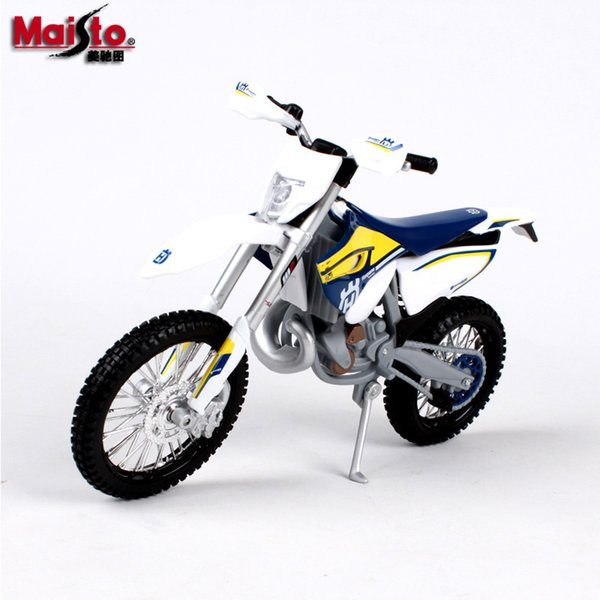 Maisto Husqvarna Kawasaki YAMAHA Ducati Alloy Motorcycle Model Toys, 1:12 Scale, for Kid' Party Birthday Gifts, Collecting, Home Decorations