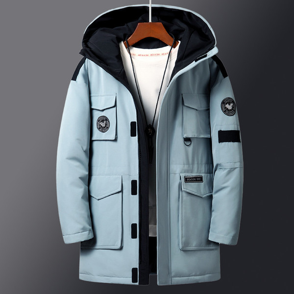 College Fashion Trends 2020.2019 2020 Fashion New Youth Outdoor College Students Handsome Winter Trend Mens Jacket Latest Men S Mid Length Down Jacket From Genguo 73 93