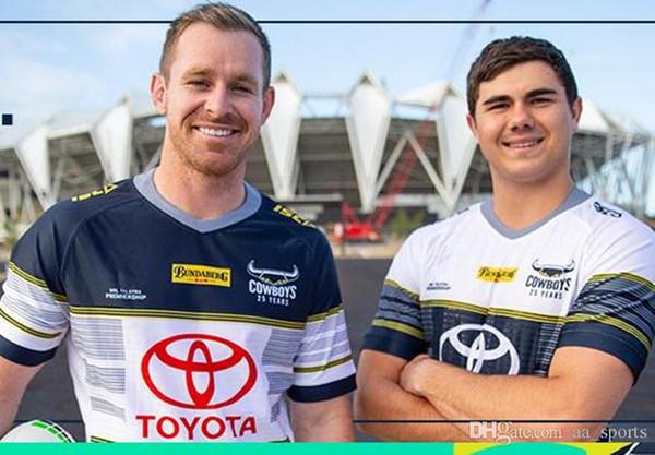 Горячие продажи Австралия 2020 Северный Квинсленд Ковбой Главная регби Джерси Лига рубашка ковбои регби майки рубашки-3xl
