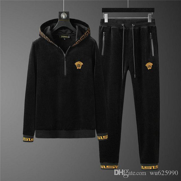High Quality Mens Sweatshirts Sweat Suit Brand designs Clothing Men's Tracksuits Jackets Sportswear Sets Jogging Suits #663 Quality Men