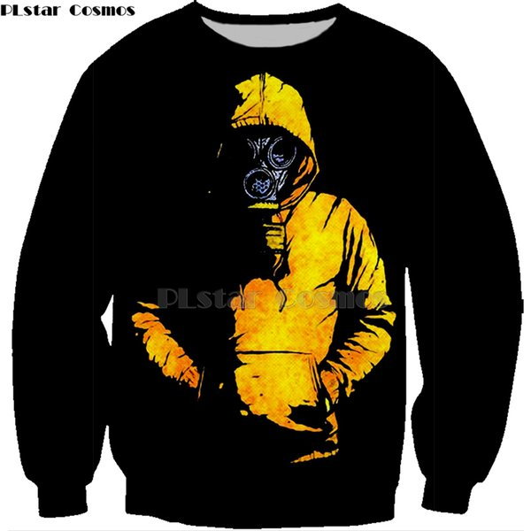 Men's clothing Fashion Breaking Bad sweatshirt LOS POLLOS Hermanos hoodies Chicken Brothers Short Sleeve Tee Hot Sale Tops-4