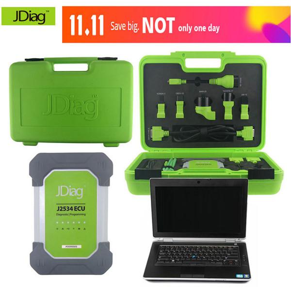 Original as Launch & Autel JDiag Elite II Pro J2534 Professional ECU Programmer Tool Auto Diagnostic-Tool Diagnostic Scanner