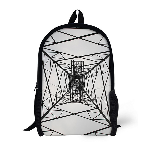 Creative Printing Children Girls School Bags For Teenage Casual Daily laptop Backpacks M013