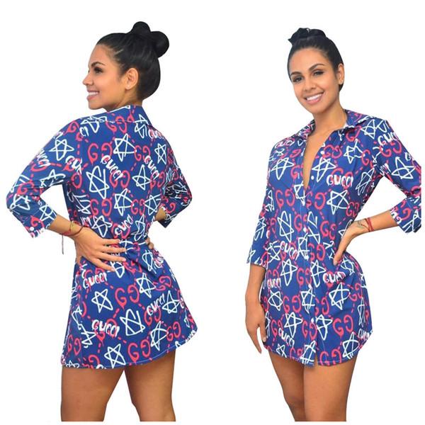 Женская футболка с длинным рукавом платье юбка один кусок набор конструктора женщин платья мода письмо печати платье партии женщин одежда klw2379