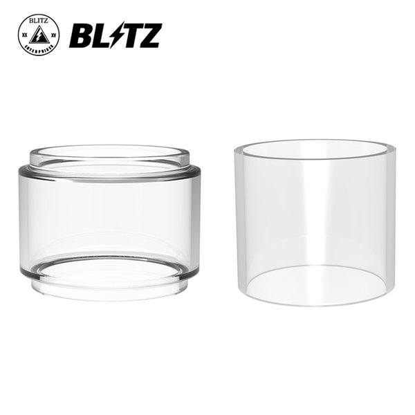 Tube en verre de rechange Blitz Monstor Tube en verre Pyrex de 4,5 ml / 6,5 ml pour clopes Blitz Monstor