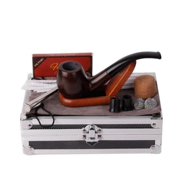 Новый Алюминиевый Сплав Пакет Коробки Подарка, Труб Рамы, Табачные Арматурой Месте Партия