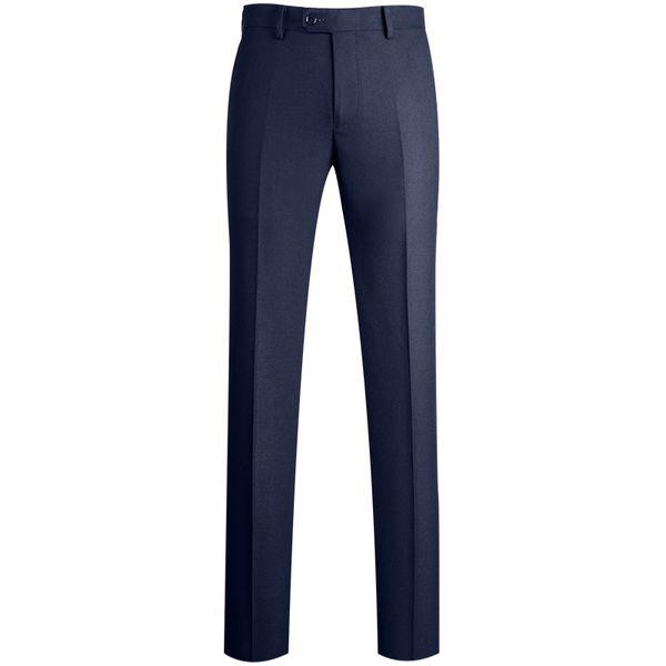 2019 New Arrivals Men's Fashion High Quality Wrinkle-resistant Zipper Fly Suit Pants Romantic Wedding Groom Suit Pants for Men