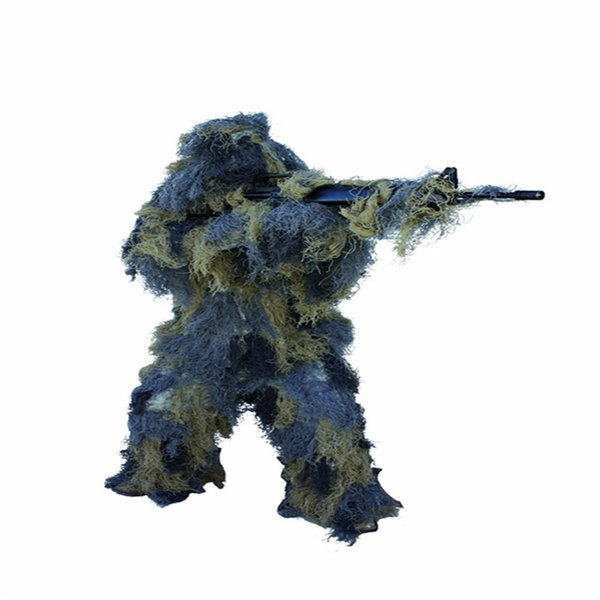 1.2m hunting ghillie suits accessories camouflage gun rope elastic synthetic fiber camo ghillie suit accessories gun hidden rope thumbnail