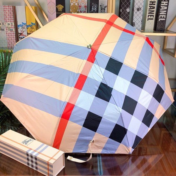 Summer Fashion Sunshades High Quality Workmanship Bonzer Umbrellas for Men and Women High Toughness Carbon Fiber Stand Umbrellas