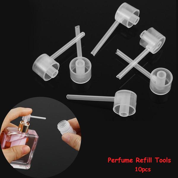 10 Teile / beutel Parfüm Nachfüllwerkzeuge Diffusortrichter Kosmetische Pumpspender Tragbare Neue sprayer nachfüllpumpe flasche füllvorrichtung