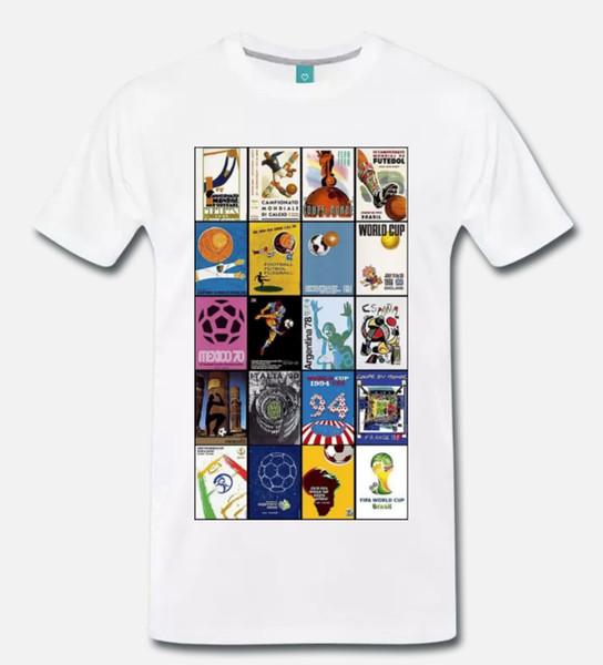 Maglia Uomo Fan Argentina T-Shirt Maglietta Uomo Manica Lunga Coppa del Mondo