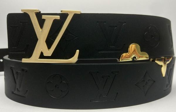nueva estilos c404f 23c59 Compre Cinturón Hebilla Grande Cinturones De Diseño Cinturones De Lujo Para  Hombre Mujer Marca Hebilla De Cinturón De Moda De Calidad Superior Para ...