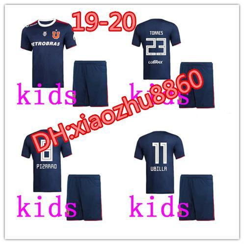 kids kit new 2019/2020 University of Chile Catholic University kids Soccer Jersey 19/20 colo colo Jerseys university football shirts Jersey