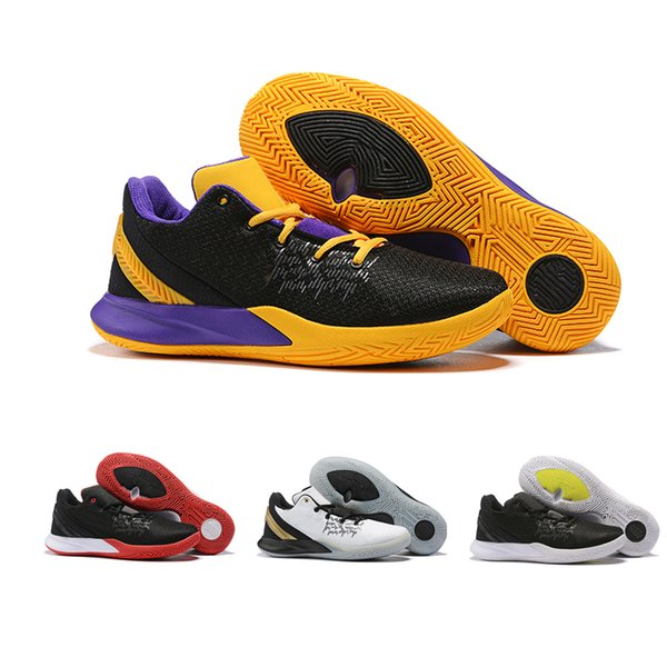 2019 Basketballschuhe Männer ursprüngliche Kyrie Schuhe FlyTrap Designer 2 II Sneakers Schuhe Top Größe 40-46