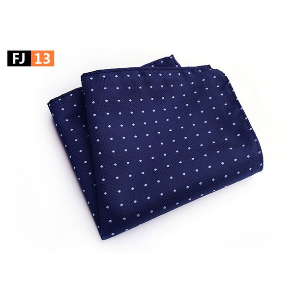 mens business floral paisley polka dots jacquard handkerchief pocket square bwthz0325, Blue;purple