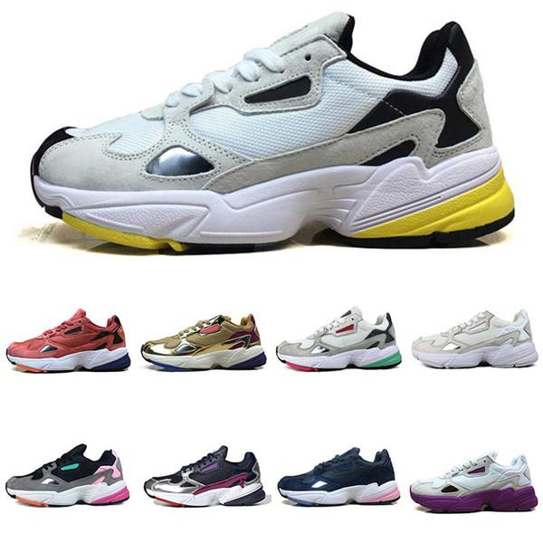 Falcon New W Zapatos para correr para mujeres Hombres Alta calidad Negro Blanco Diseñador Deportes Casual Jogging Outdoor Sneakers 36-45
