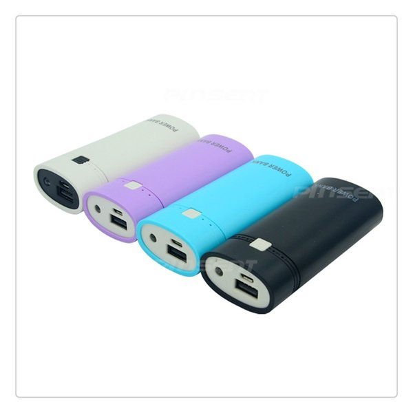 DIY Portable Removable Charger Case 2x18650 External Battery Power Bank with USB Output and Indicator Light Security
