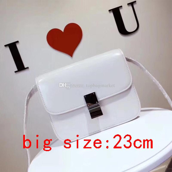 Classical brand designer luxury ladies small tofu bags women fashion shoulder bag crossbody handbags high quality hot selling size:23x19x6cm
