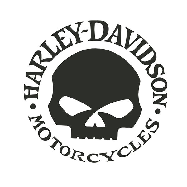 top popular 15*15CM Harley Davidson motocycles brave man style car sticlers CA-3018 2021