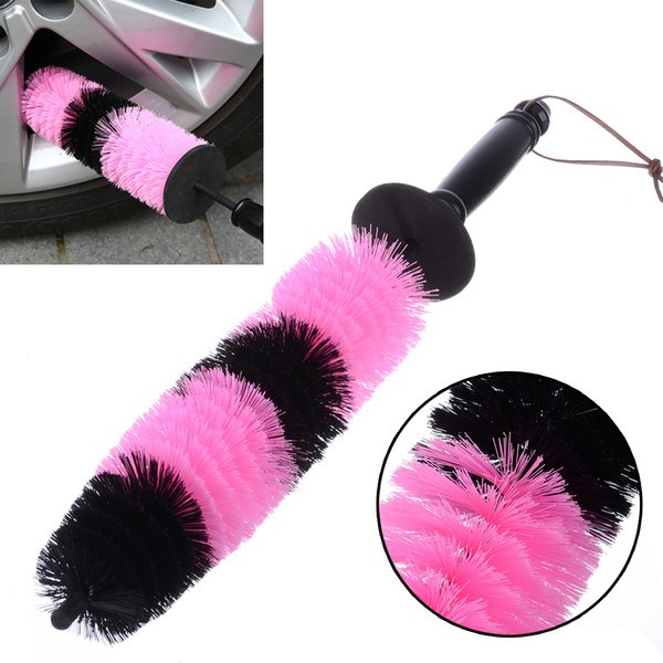 43cm Long Car Grille Wheel Engine Brush Wash Microfiber Cleaning Wheel Wash Detailing Automotive Cleaning Tool