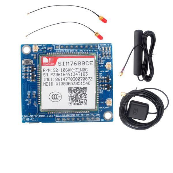 SIM7600CE 4G Module Development Board for Arduino Raspberry Pi 5-18V Android Linux Windows GSM/GPRS/EDGE900/1800 MHz