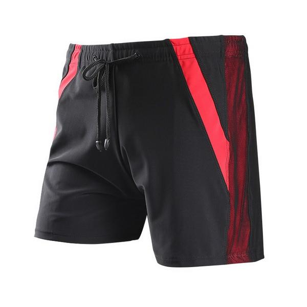 2019 New Men's Swimwear Sports Fitness Large-Size Men's Swimwear with Good Air-permeability Fabric Swimwear Hot-selling Manufacturers Wholes