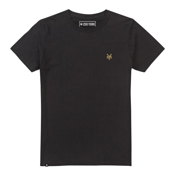 100% cotton casual printing ZOO YORK BAY STREET MENS T BLACK 2018 New Brand Mens T Shirt Cotton Short Sleeve print