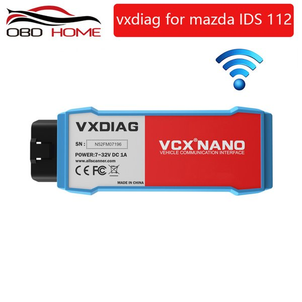 2019 Original VXDIAG VCX NANO for Mazda 2 in 1 IDS V112 Auto Diagnostic Tool Scanner