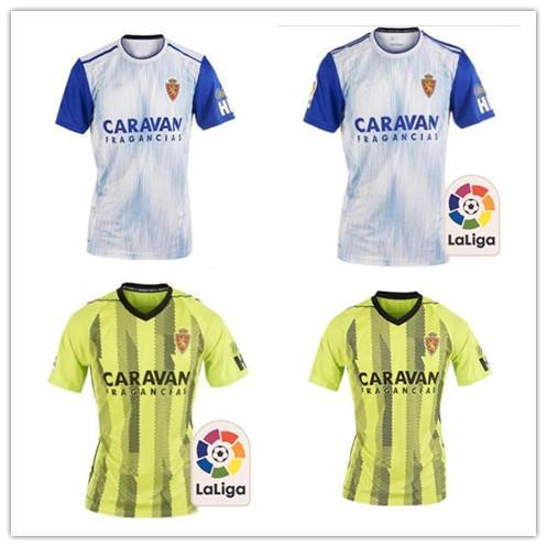 La calidad de Tailandia 19-20 Real Zaragoza en casa de distancia camisas camiseta de fútbol 2019-20 Zaragoza Real Zaragoza Borja Iglesias POMBO Fútbol