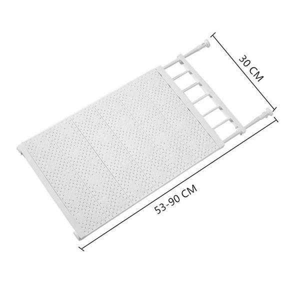 White 53-90cm Width 30cm