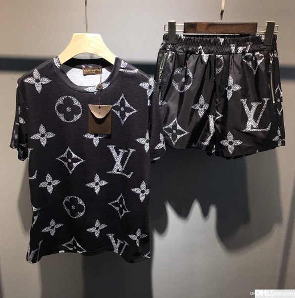 Neue Designer Frauen Zweiteilige Outfits Brief Drucken Frauen Trainingsanzug Sommer T shirts shorts luxus damen trainingsanzüge