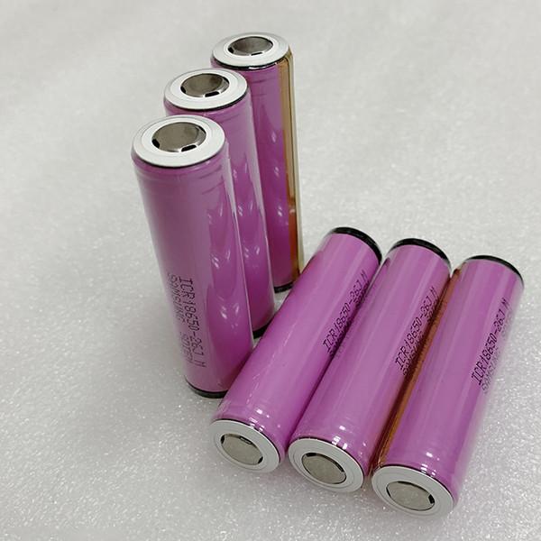 BMS Protected 3.7V 18650 Sam-sung 2600mah Аккумулятор 3.7V с выходом на печатную плату 4A в наличии США ЕС нет бесплатной доставки для электроинструмента