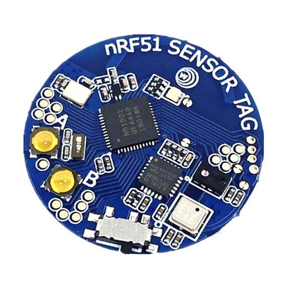 NRF51822 AP3216 Bluetooth 4.0 sıcaklık sensörü modülü Hava basıncı sensörü İvme ölçer Gyro Ortam ışığı