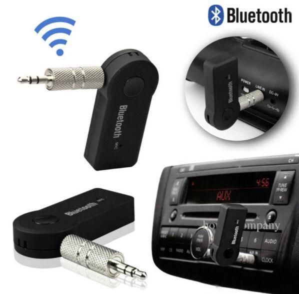 Wireless 3,5 mm AUX-Auto Bluetooth 4.1 Audio Handsfree Car Kit Musikempfänger BT-350