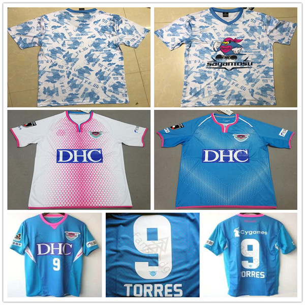 2019 2020 Maillots de football Sagan Tosu 9 Fernando Torres Takahashi Harakawa Kyosuke Domicile Personnalisé À Domicile 19 20 Japon J League Casual Football Shirt
