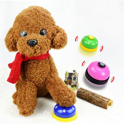 Dog Trainer Pet Ring The Bell Dog Order Meal Cat Teddy Golden Fur Universal Footprints Interactive Development Of Intelligence