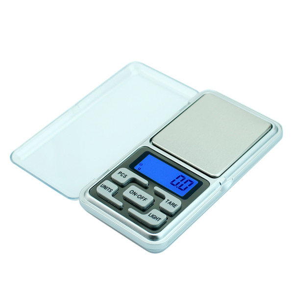 Pocket Jewelry Scale For Gold Bijoux Sterling Silver Diamond Herb 0.01 Gram Digital Scales Electronic Balance Lcd With Backlight