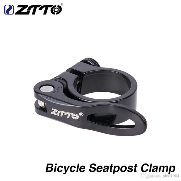 Ultralight Bike Bicycle Seatpost Clamp 31.8mm Quick Release Seat Post Clamp