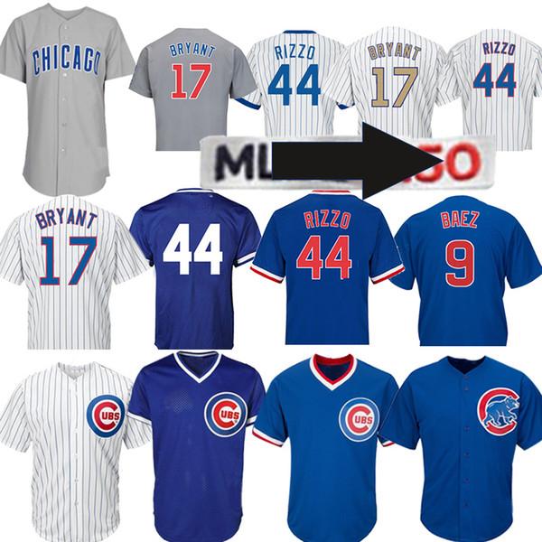 80c146792 Chicago 17 Kris Bryant Cubs 44 Anthony Rizzo 9 Javier Baez 12 Kyle  Schwarber 22 Jason