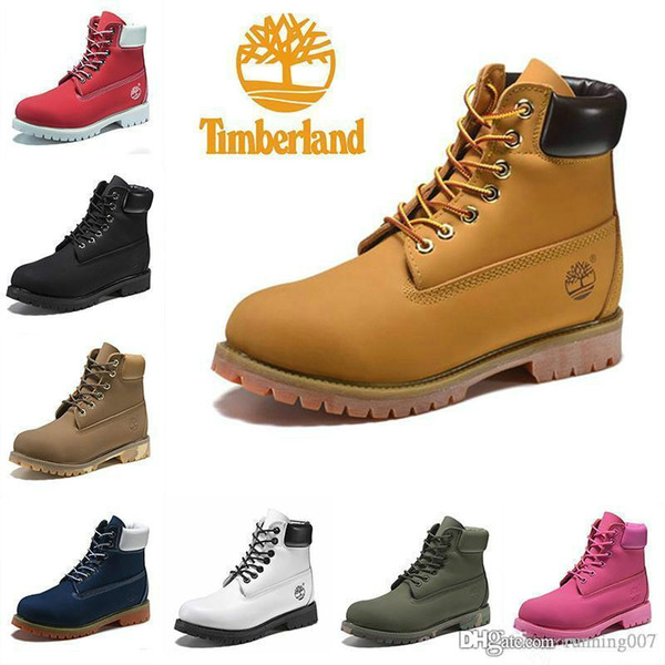 New Original Brand Boots Women Men Timberland Designer Sports Red White Winter Sneakers TBL Casual Trainers Mens Women Luxury ACE Boot 36 45 Comfort
