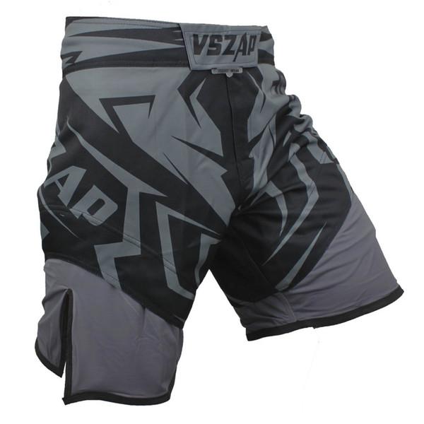 VSZAP Luta Shorts De Boxe MMA Shorts Para Homens MMA Muay Thai Shorts Troncos Esporte Grappling Sanda Kickboxing Calças Boxe