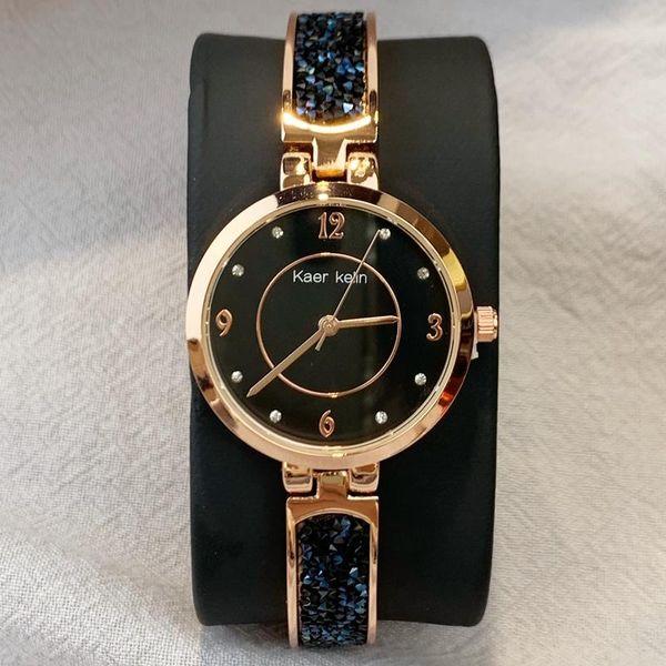 2020 Prix de gros Marque Mode féminine robe Montre Relojes De Marca Mujer bande de diamant de luxe Lady Montre-bracelet classique Quartz Top qualité
