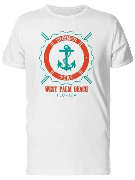 Das T-Stück der Sommerzeit-West Palm Beach-Männer - Bild