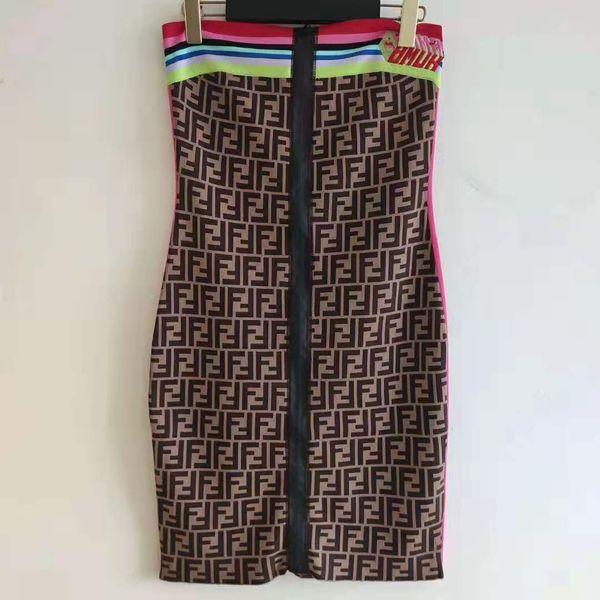 1206 2020 della molla di trasporto di marca Same Stile abbigliamento Flora Stampa Slash manica lunga collo un impero linea Kint Womens Dress QIAN