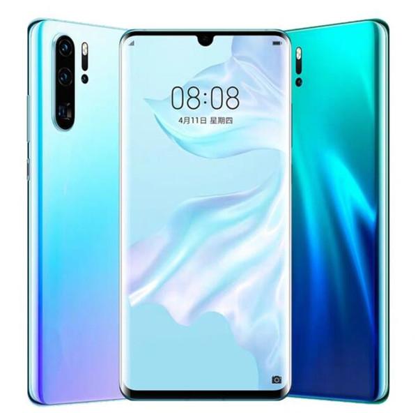 2019 Nueva Llegada Goophone P30 Pro 6.5 pulgadas Android 9.0 falso 4G Lte 8MP Cámara GPS Wifi 3G WCDMA desbloqueado teléfono inteligente