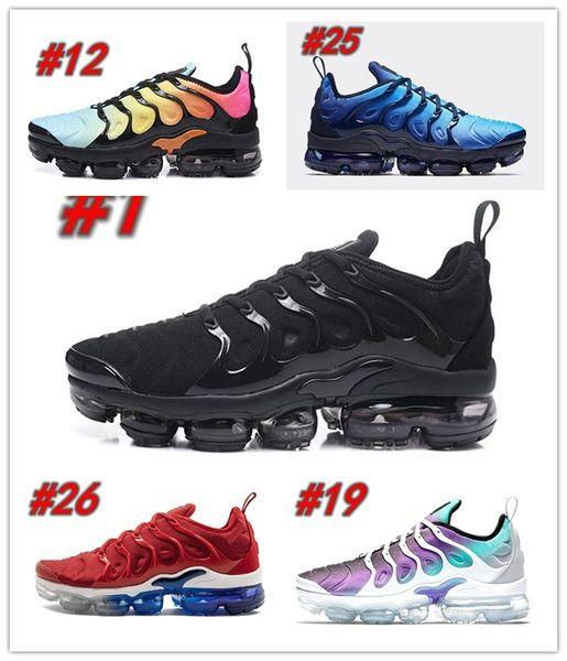 Nike Air Max Tn plus Проекты 2019 Оригинал AIR TN Maxes Плюс обувь Дешевые Tn Requin Chaussures Беговая Роскошные кроссовки ТНС Qs Тренеры Zapatillaes Размер AIR152